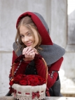 "Copricapo di lana ""Red Riding Hood"""