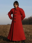 Gambeson medievale in stile asiatico