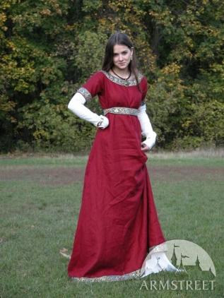 Abito medievale Dama fraca con tunica e vestito. Disponibile in ... 772e1713b38