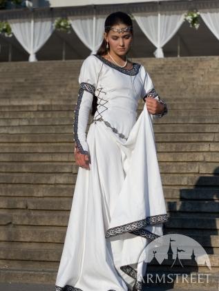 65babfc80a6b Abito medievale Dame. Disponibile in  cotone blu scuro