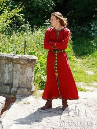 Tunica medievale classica lunga disponibile in lino for Classica stoffa inglese